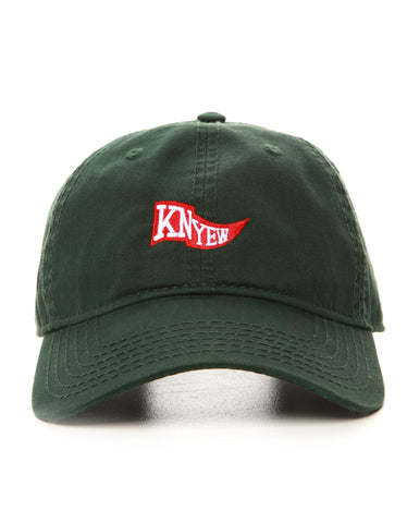 Hunter Green Flag Strapback