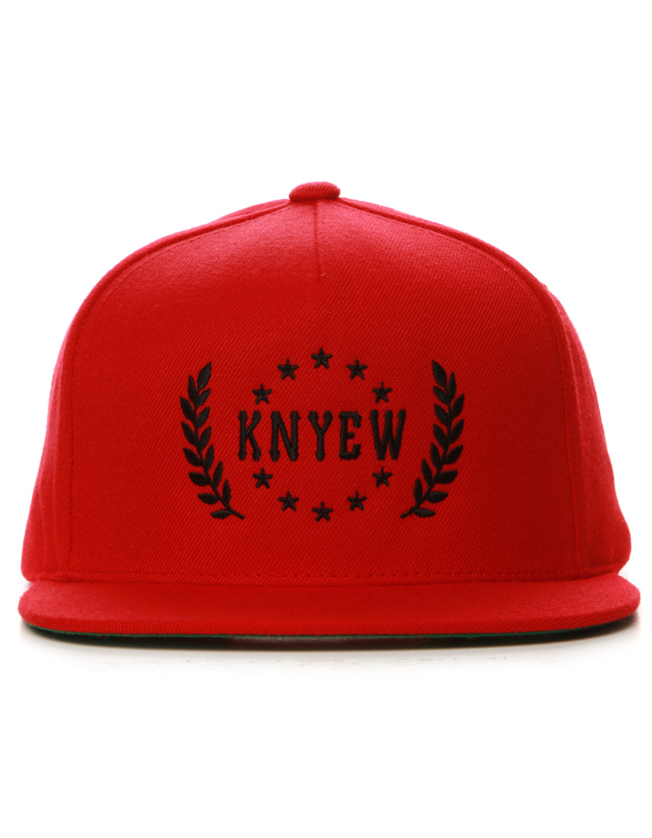Red Crest Snapback