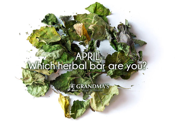 April Which herbal bar are you?