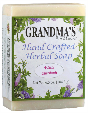 WHITE PATCHOULI HERBAL SOAP
