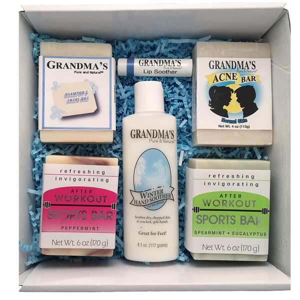 Grandmas Pure & Natural Lip Soother, 0.15 Oz (Pack of 12) [] Botanical Pore Toner 150ml By Be the Skin