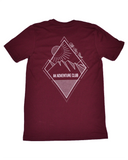 AK Adventure Club T-Shirt, Maroon