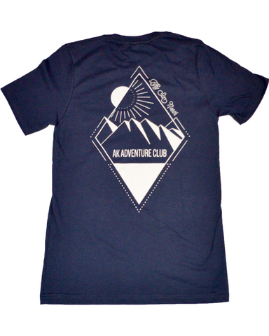 AK Adventure Club T-Shirt, Navy