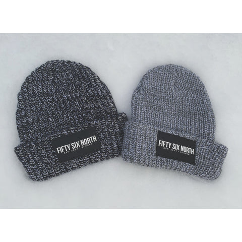 Cuffing Season Beanie (Black/Natural)