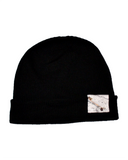 X Marks the Spot Beanie, Black