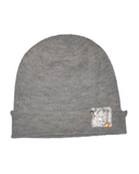 X Marks the Spot Beanie, Grey