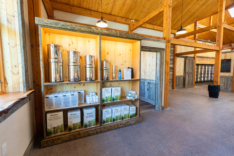 Berkey Water Filtration Systems at Harvest Haven