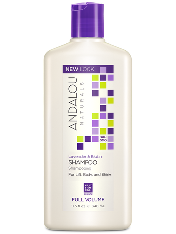 Andalou Naturals Lavender & Biotin Full Volume Shampoo - Harvest Haven