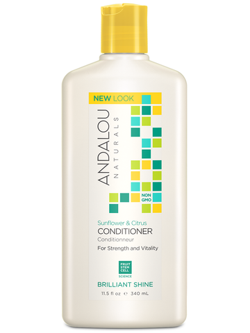 Andalou Naturals Sunflower & Citrus Brilliant Shine Conditioner - Harvest Haven