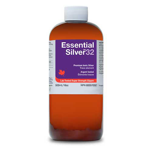 16 oz Colloidal Silver (32 ppm)