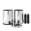 Imperial Berkey water filter disassembled