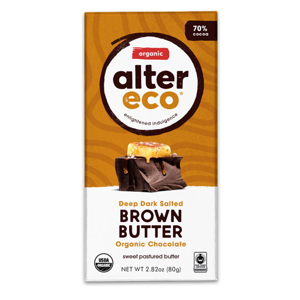 Alter Eco Organic Brown Butter Chocolate Bar