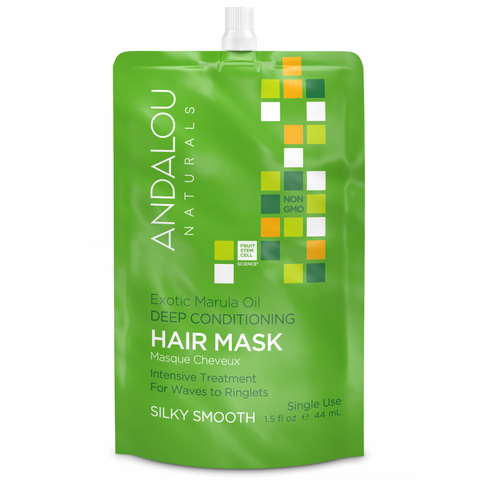 Andalou Naturals Exotic Marula Oil Silky Smooth Hair Mask - Harvest Haven