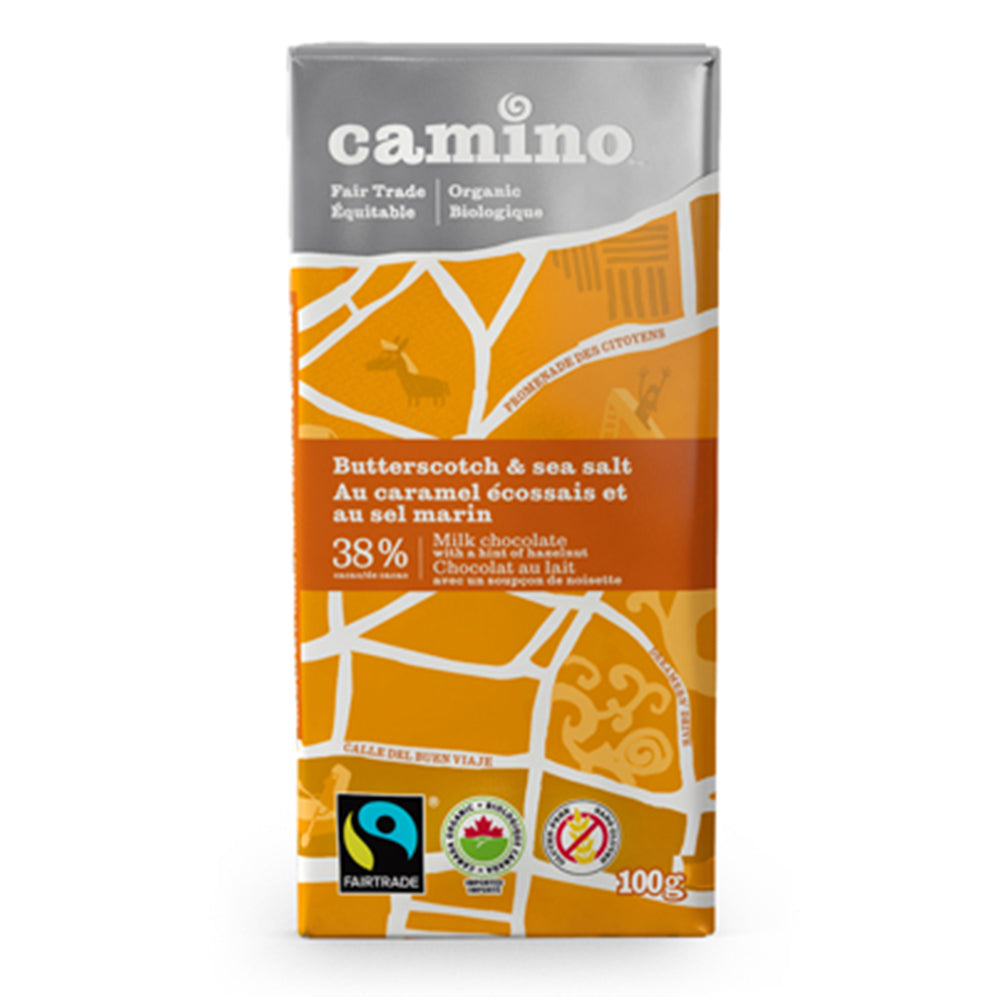 Camino Organic Butterscotch and Sea Salt