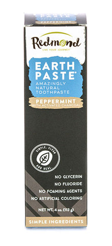 Redmond Earthpaste Toothpaste - Flouride free charcoal toothpaste - Harvest Haven