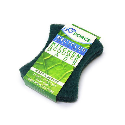 Eco Force Scourer Pads- 3 pack - Harvest Haven