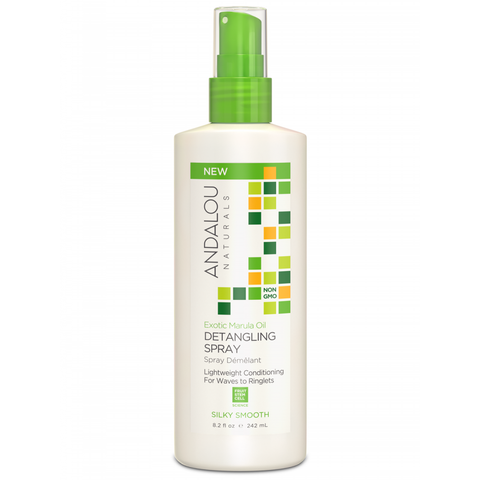 Andalou Naturals Exotic Marula Oil Silky Smooth Detangling Spray - Harvest Haven