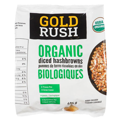 Gold Rush Frozen Hash Browns