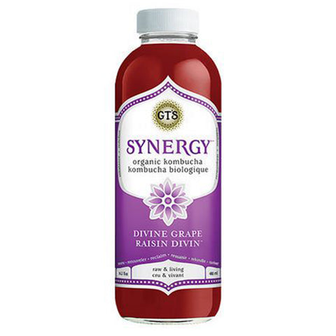 GT's Organic Divine Grape Kombucha