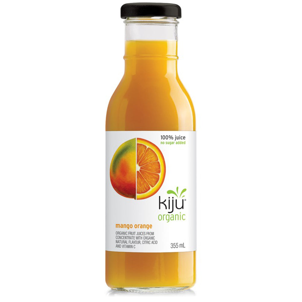 Kiju Organic Mango Orange Juice, 355 mL