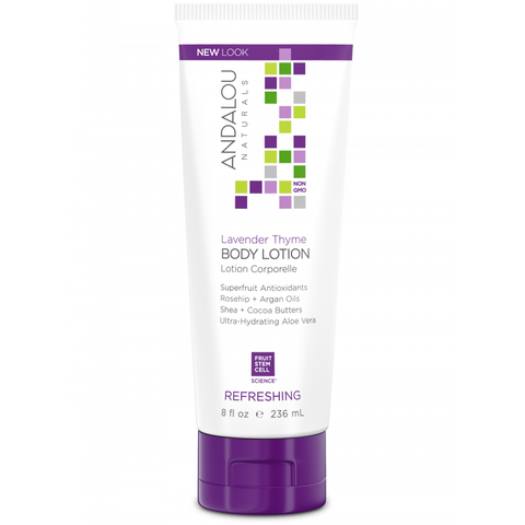 Andalou Naturals Lavender Thyme Refreshing Body Lotion - Harvest Haven