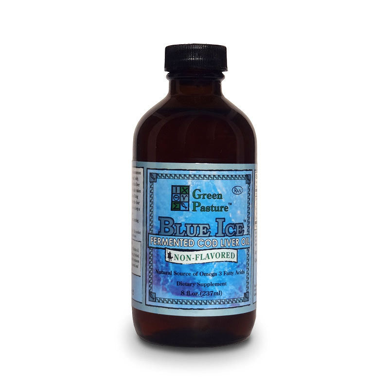 BLUE ICE™ Fermented Cod Liver Oil - Non Flavoured, 8 fl oz