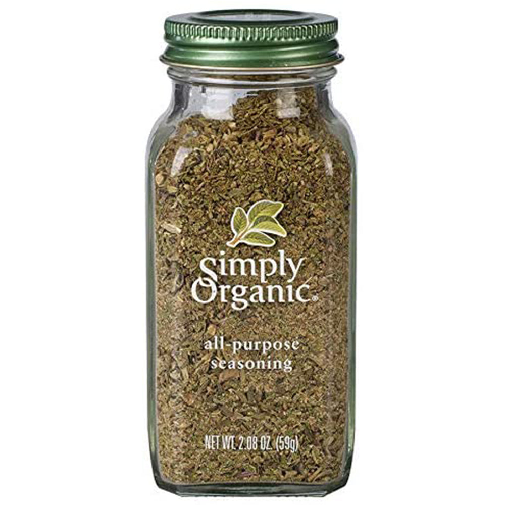 Simply Organic All-Purpose Seasoning, 59 g