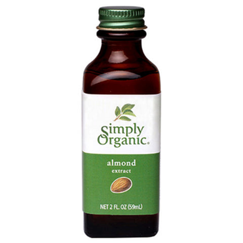 Simply Organic Almond Extract, 59 mL
