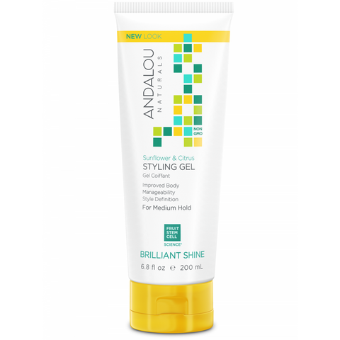 Andalou Naturals Sunflower & Citrus Medium Hold Styling Gel - Harvest Haven