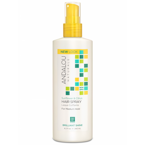 Andalou Naturals Sunflower & Citrus Medium Hold Hair Spray - Harvest Haven
