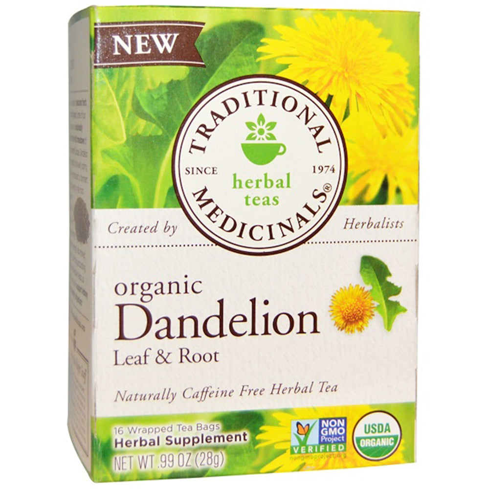 Traditional Medicinals Organic Dandelion Leaf and Root Tea