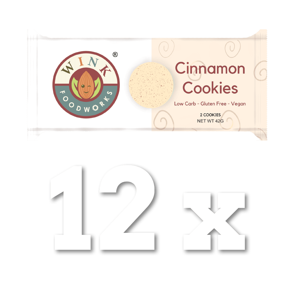 Cinnamon Cookies 12 Pack