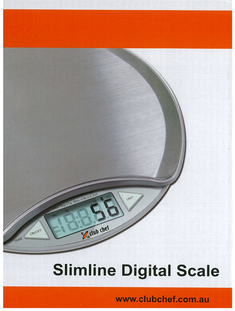 Digital Scales Stainless Steel 5kg x 1g