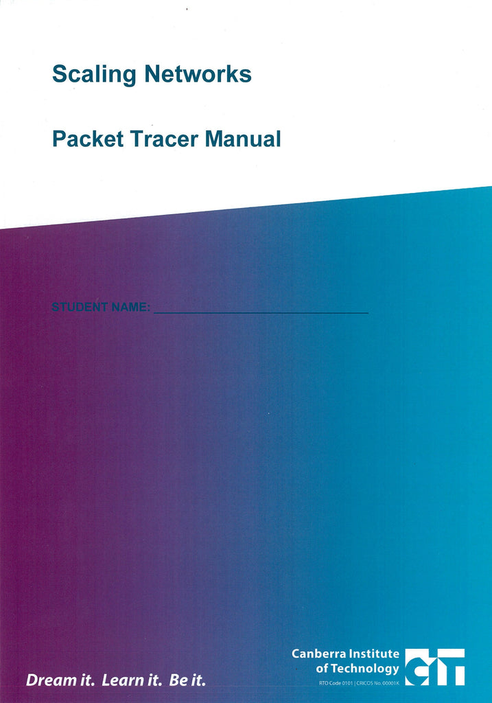 Scaling Networks Packet Tracer Manual