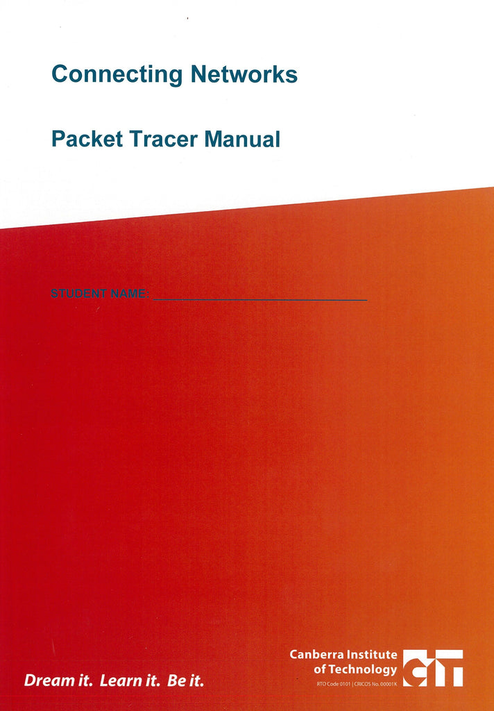 Connecting Networks Packet Tracer Manual 201720