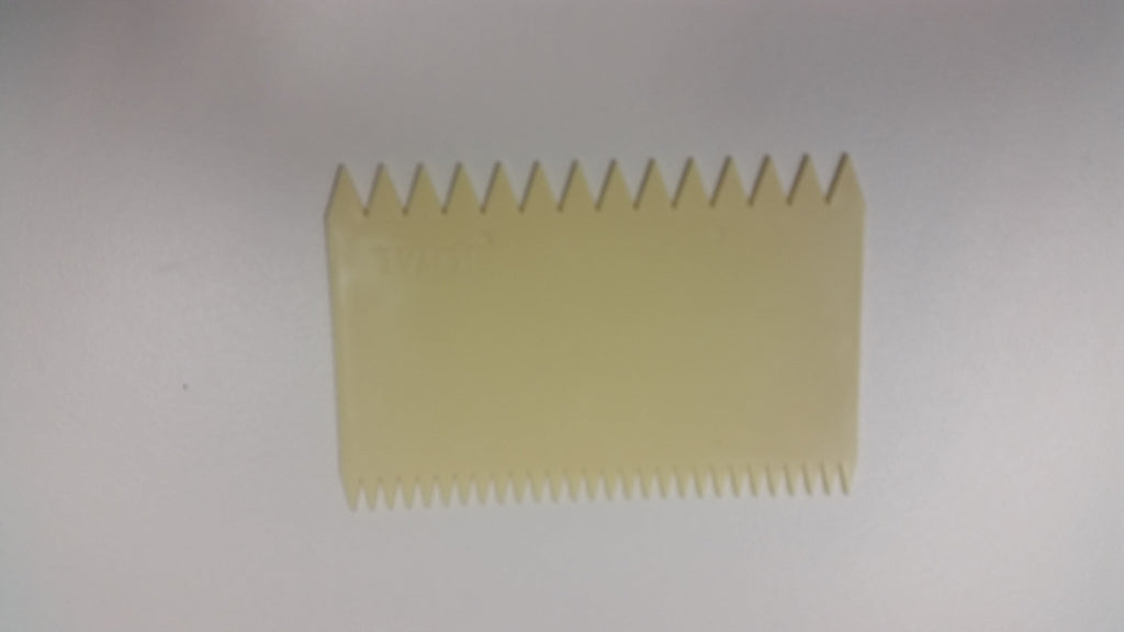 Scraper Comb Two Sided