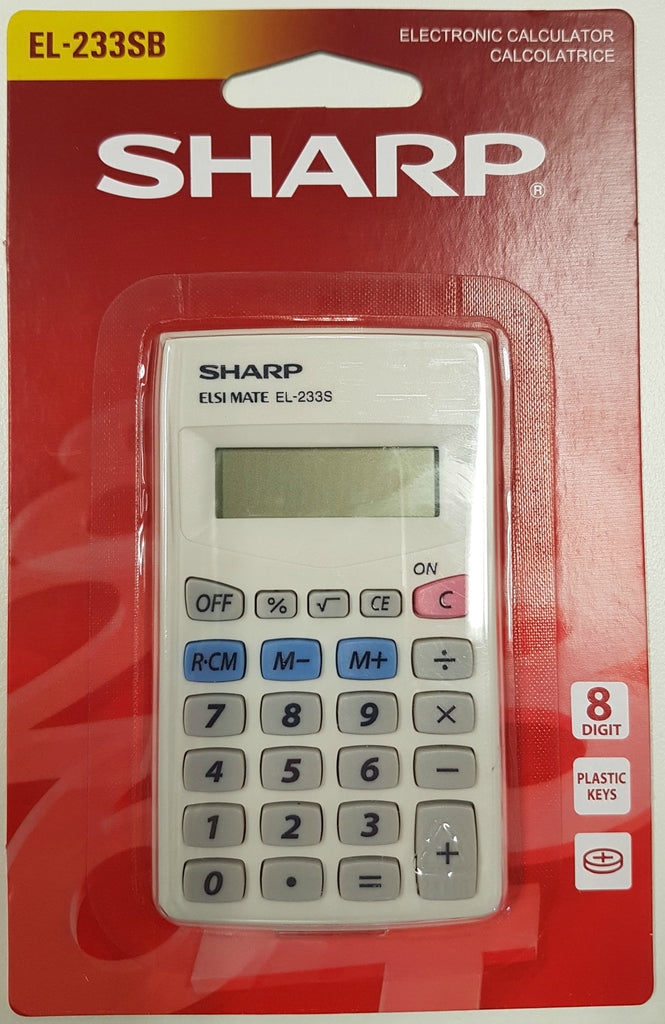Calculator EL233S Sharp