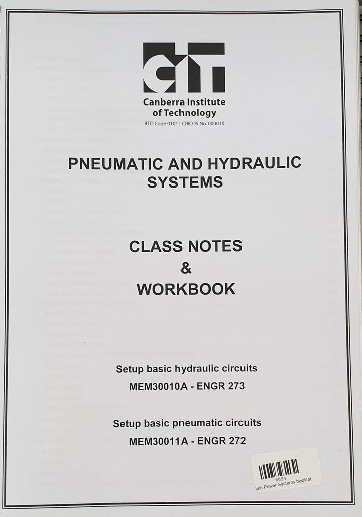 Fluid Power Systems booklet
