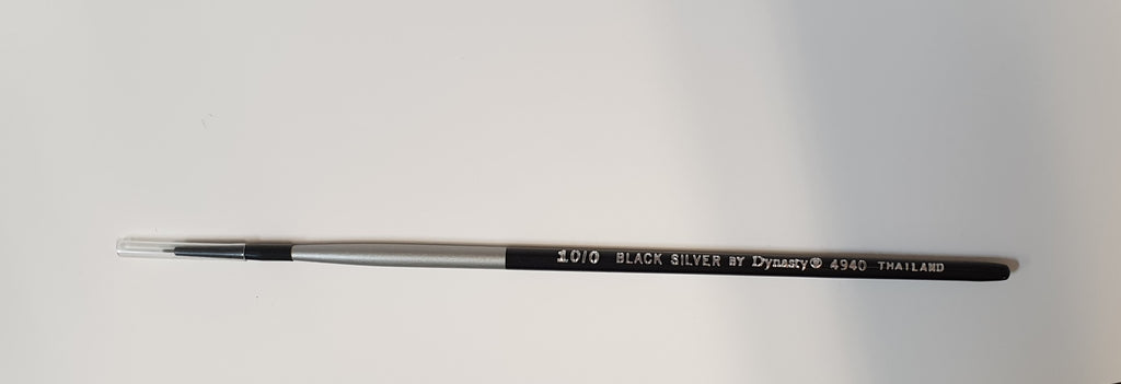 Brush 4920 Black/Silver Flat