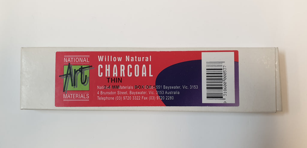 Charcoal Willow 2-4mm Box of 5