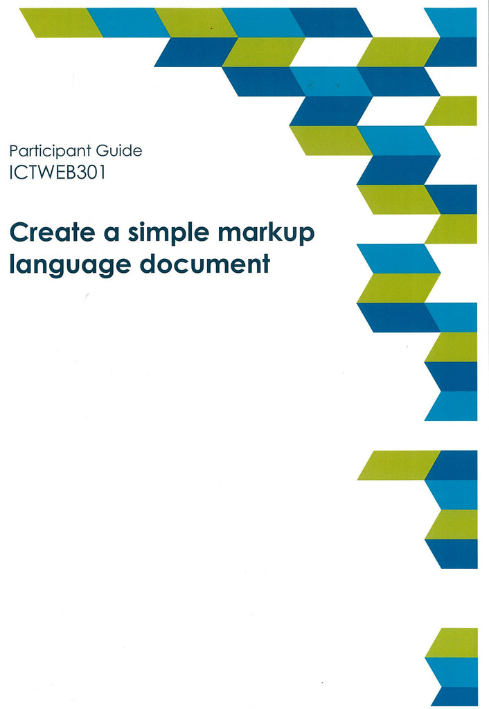 Create a Simple Markup Language Document Participant Guide