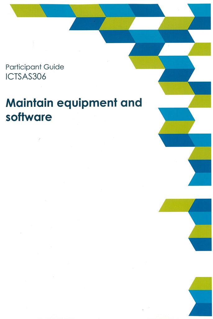 Maintain equipment and Software