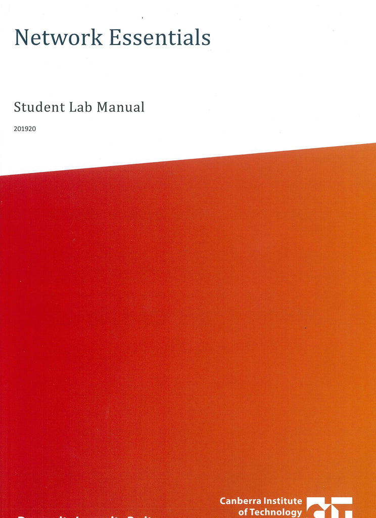 Network Essentials Student Lab Manual