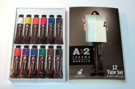 Paint A2 Chroma 12x20ml set