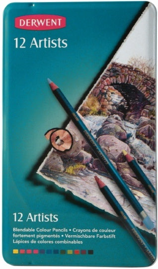 Pencil Derwent Artist Pk12