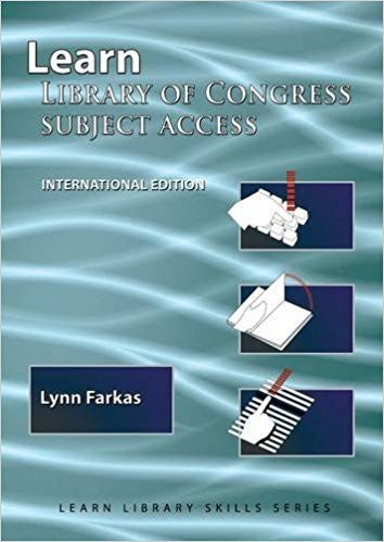 Learn Library of Congress Subject Access International Edition