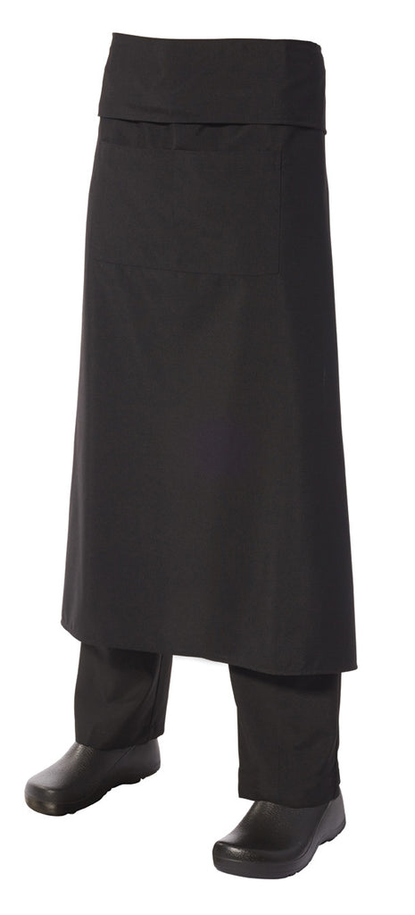 Apron Waiters Blk Long PV