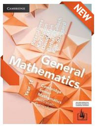 General Mathematics/Mathematics Applications for the AC Year 11 (Print and Interactive)