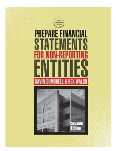 Prepare Financial Statements for Non-Reporting Entities 7ed