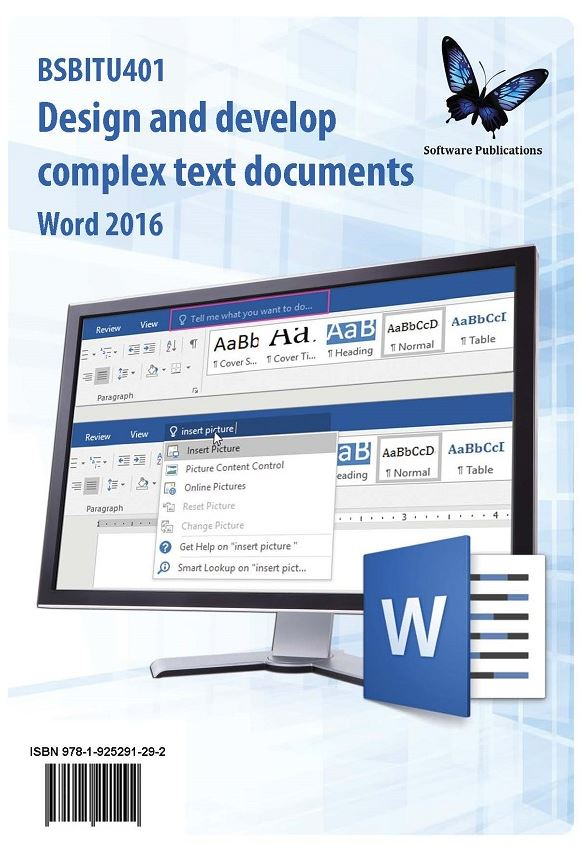 Design and Develop Complex Text Documents Word 2016